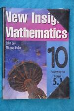 2005 New Insight Mathematics Year 10 Stage 5.1 Student Textbook