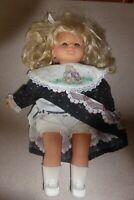 "Vintage Liebermann Western Germany Doll 16"""