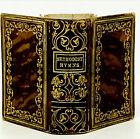 1845 Miniature Methodist Episcopal Church Hymnal Alice Payne, Fine Binding
