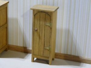 Miniature Dollhouse Furniture Pine Chimney Cabinet