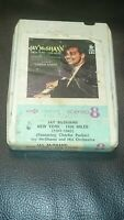 Vintage 8 Track Cassette Cartridge Eight jay mcshann new York 1208 miles