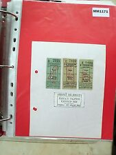 M1171 High Ethherleigh. 3 Bus/Tram Tickets, Prospect Bus Service. **