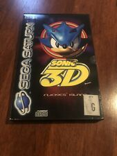 Sonic 3D Flickies Island Sega Saturn Game