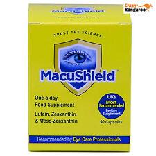 New MacuShield Original Food Supplement Pack of 90 Capsules (Macu001)