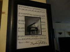 """Shadow box Grand Piono Signed Piece by Michael 18.5"""" 15.5"""""""