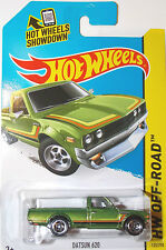 HOT WHEELS DATSUN 620 UTE GREEN