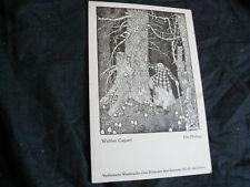 AK Walther Caspari  Die Pilzfrau ca 30er