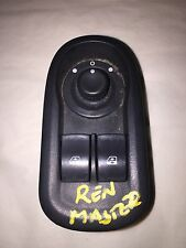 RENAULT MASTER X62 2011-2014 MASTER WINDOW SWITCH AND MIRROR TOGGLE 1007479