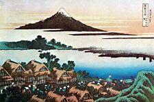 Dawn at Isawa 15x22 Japanese Print by Hokusai Asian Art Japan Ltd. Edition