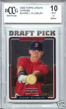 JACOBY ELLSBURY Yankees 2005 Topps Chrome Update rookie BGS BCCG 10 MINT !!
