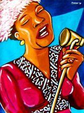 ELLA FITZGERALD PRINT poster jazz cole porter song book cd duke ellington basie