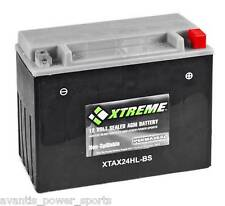 BATTERY  Xtreme AGM Permaseal XTAX24HL-BS Honda Goldwing+ others 1 Yr Warr