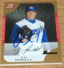 Jays J.P. Howell RC Autographed Card