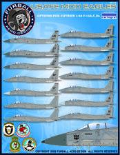 "1/48 Furball F-15A/C/D ""USAFE MOD Eagles"" Decals"