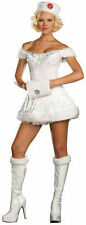 DREAMGIRL SEXY WHITE RUSSIAN BEAUTY ADULT COSTUME Medium or Large