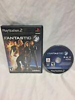 Fantastic 4 ps2 Sony PlayStation 2 2005 Marvel Activision Black Label Four