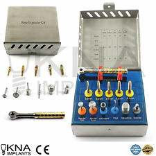 Dental Bone Expander Kit Sinus Lift with Saw Disks Implants Surgical Instruments