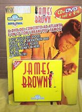 CD + DVD - JAMES BROWN CD CON I BRANI PIU' FAMOSI E DVD DEL CONCERTO AD ATLANTA