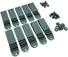 "Metal Spring Belt Holster Sheath Clip (2 or 10 Pack) 1.75"" w/Hardware, Kydex Usa"