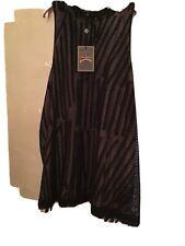 Vivienne Westwood Black Mesh Racer Dress Size Medium