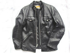 BLOUSON CUIR SCHOTT COLLECTOR 40US PERFECTO CAFE RACER LEATHER JACKET LEDERJACKE