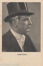 Rudolf Forster avec cylindre AK Acteur Actor Film Movies 1610594