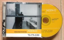 KEEN-O / NOBODY KNOWS HOW AND WHY - CD (Italy 2002) ELECTRONIC EXPERIMENTAL JAZZ