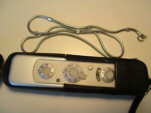 Minox Kamera Spionagekamera Minikamera mit Tasche und Messkette