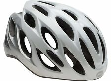 Bell Draft Cycling Helmet (White Silver Repose / Universal Size)