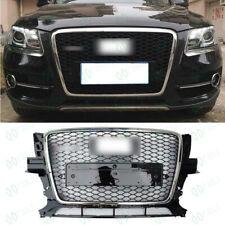 Black Front Bumper Honeycomb Mesh Grille For Audi Q5 2008-2012  FJ2-308
