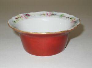 Antique Elite L France Porcelain Dessert Snack Bowl Limoges