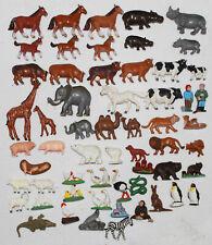 Tierfiguren === 58 x seltene Figuren Tiere Sammlung KREA markiert !