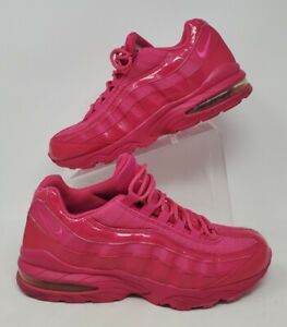 Nike Air Max 95 Pink Leather Sz 10 Women Running Shoes