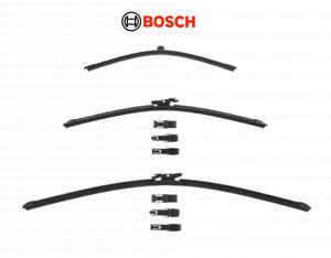 Wiper Blade Set (Rear + Left + Right) BOSCH for Porsche MACAN