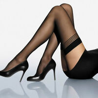 """Women Sexy Lace Sheer Over Knee Thigh Stockings High Socks Pantyhose Tights """""""