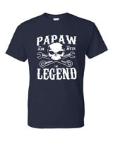 Papaw The Man The Myth The Legend Grandfather Family Tee T-Shirt New Gift
