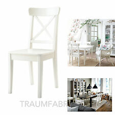 IKEA Kitchen Chair Wooden Farmhouse Country House Style White NIP