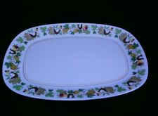 "Noritake , Japan Oval Serving Platter Progression Homecoming #9002 13.5"" x 9.5"""