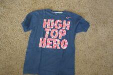 nike Dri Fit T shirt High Top Hero Basketball short sleeve medium