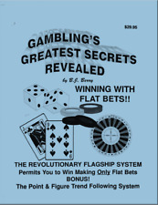 ✔️ Gambling's Greatest Secrets Revealed ✔️ Benny J. Berry ✔️RARE OUT OF PRINT ✔️