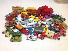 Job lot Vintage MATCHBOX / CORGI Etc Diecast Models Inc. Cars, Trucks , Used.