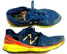New Balance Mens Blue Yellow Boston Marathon Running Shoes 10.5D M890BOS2
