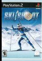 Ski and Shoot ps2 PlayStation 2 game only 13H kids sports