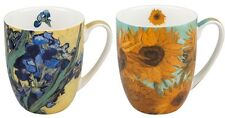 McIntosh Fine Bone China Set of 2 - Van Gogh Iris