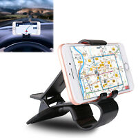 Universal Car Hud Dashboard Cell Phone Mount Holder Stand Cradle Clip GPS US