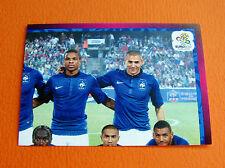 458 EQUIPE TEAM PART 2 FRANCE  FOOTBALL PANINI UEFA EURO 2012