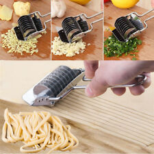 Stainless Steel Noodle Cutter DIY Tool Rotary Press Food Chopper Pasta Maker
