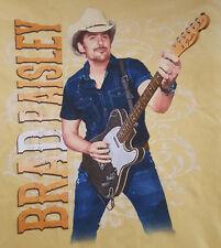 Brad Paisley 2014 Large T Shirt Fender Telecaster Yellow Kraft Cheese
