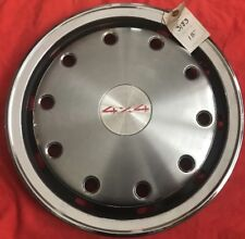 "Chevrolet GMC Truck Suburban 1500 2500 3500 4x4 Rear Wheel Cover Hubcap 15"" OEM"