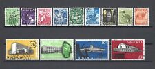 More details for nigeria 1961 sg 89/101 used cat £26
